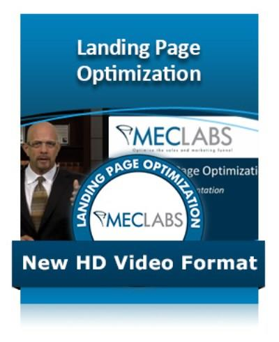 MECLABS: Landing Page Optimization