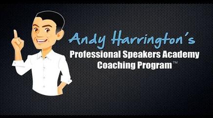 Andy Harrington – Professional Speakers Academy