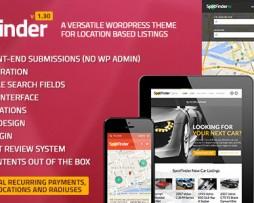 SpotFinder - Versatile Directory & Listings Theme http://www.Erugu.com