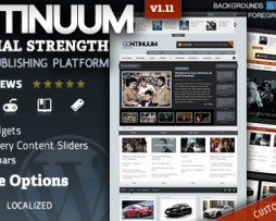 Continuum - Magazine Wordpress Theme http://www.Erugu.com