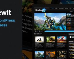 ReviewIt: Review WordPress & BuddyPress Theme http://www.Erugu.com