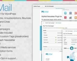MyMail - Email Newsletter Plugin for WordPress http://www.Erugu.com
