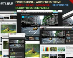 deTube - Professional Video WordPress Theme http://www.Erugu.com