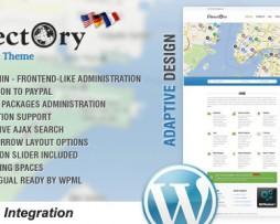 Directory Portal WordPress Theme http://www.Erugu.com
