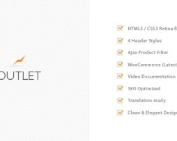 Outlet - Multi-Purpose WooCommerce Theme http://www.Erugu.com