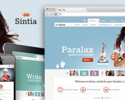 Sintia Responsive for Business Portfolio http://www.Erugu.com