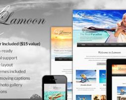 Lamoon - Responsive WordPress Theme http://www.Erugu.com