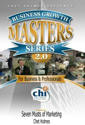Chet Holmes – The Seven Musts of Marketing http://www.Erugu.com