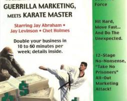 Jay Conrad Levinson and Chet Holmes – Guerrilla Marketing Meets Karate Master 22 CDs http://www.Erugu.com