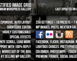 Justified Image Grid - Premium WordPress Gallery http://www.Erugu.com