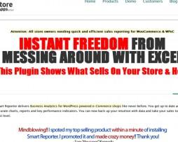 Storeapps - Woocommerce Smart Reporter Pro http://www.Erugu.com