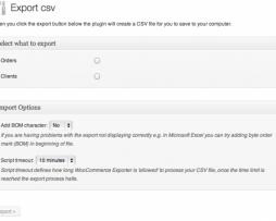Woocommerce Order/Customer CSV Export http://www.Erugu.com