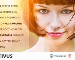 Positivus - Multipurpose AJAX Blog/Portfolio Theme http://www.Erugu.com