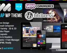 EWA - Bootstrap Multi-Purpose Wordpress Theme http://www.Erugu.com