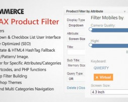 WooCommerce AJAX Product Filter - WordPress Plugin http://www.Erugu.com