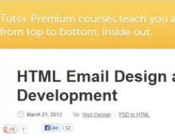 Tutsplus – HTML Email Design and Development http://www.Erugu.com