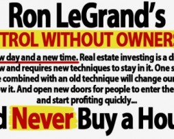 Ron Legrand – Control Without Ownership http://www.Erugu.com