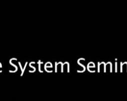 Ken McCarthy - System Seminar 2010