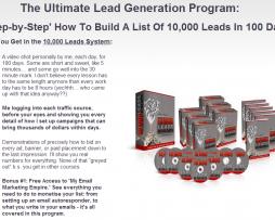 Matt Lloyd 10000 Leads in 100 Days