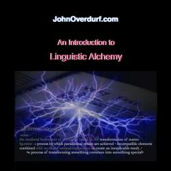 John Overdurf - Linguistic Alchemy