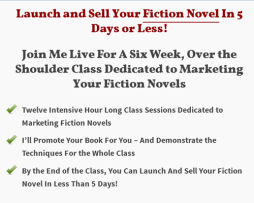 Rob Howard – Fiction Marketing Class
