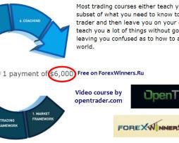 OpenTrader.com - Professional Training Program