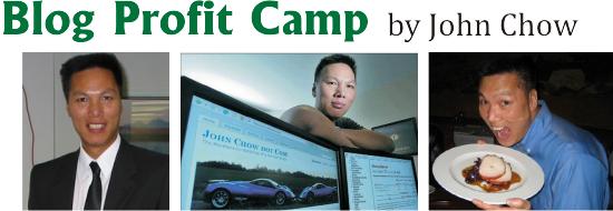 John Chow - Blog Profit Camp