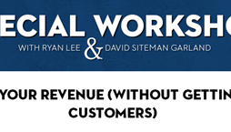 Ryan Lee & David Siteman Garland – Special Workshop: Double Your Revenue