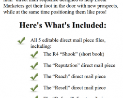 Mike Cooch – The R4 Direct Mail System