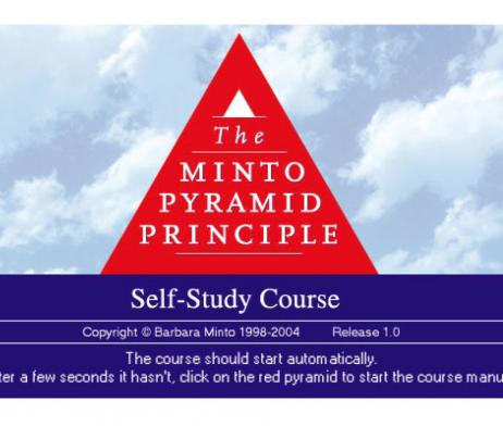 barbara minto pyramid principle epub